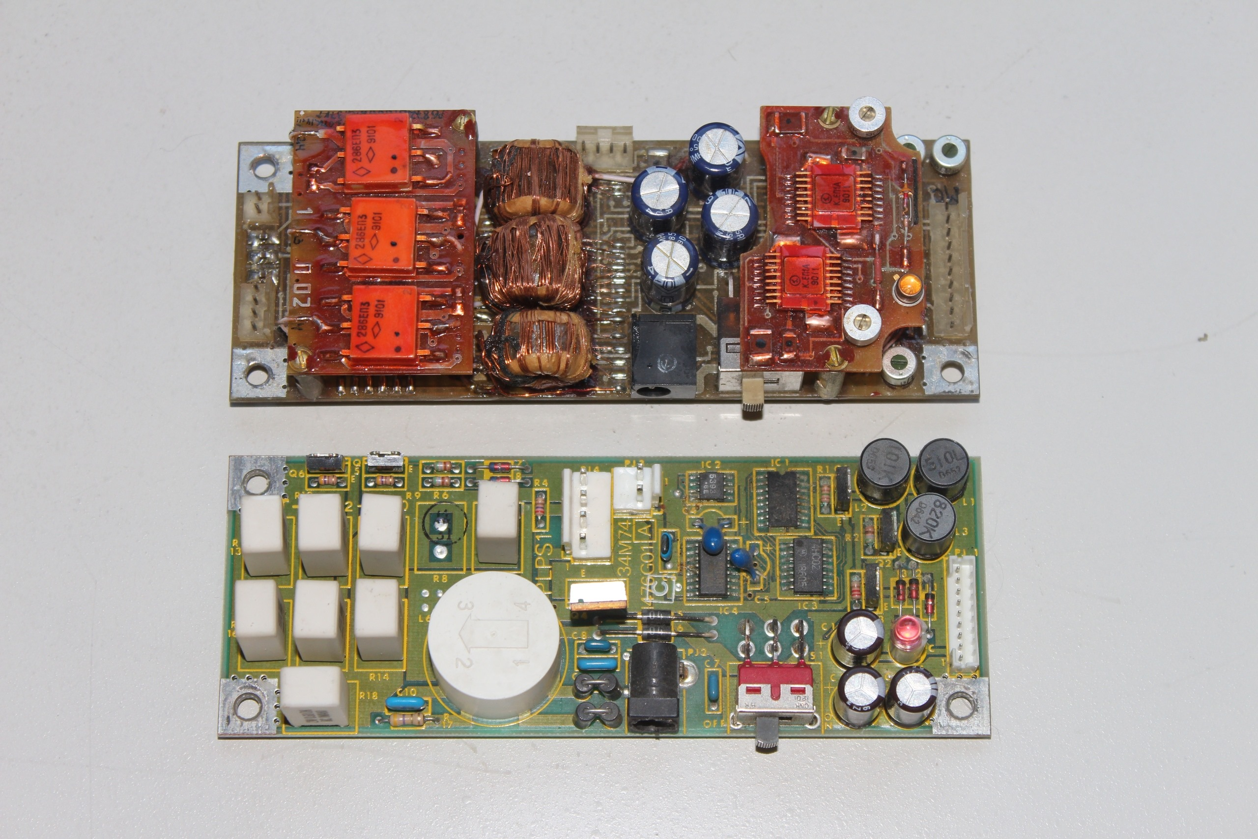 Модули стабилизатора МС 1504 и Тошибы T1100