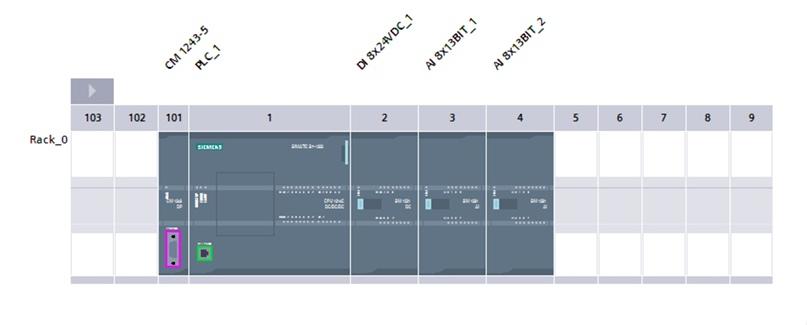 Новая сборка на базе S7-1214