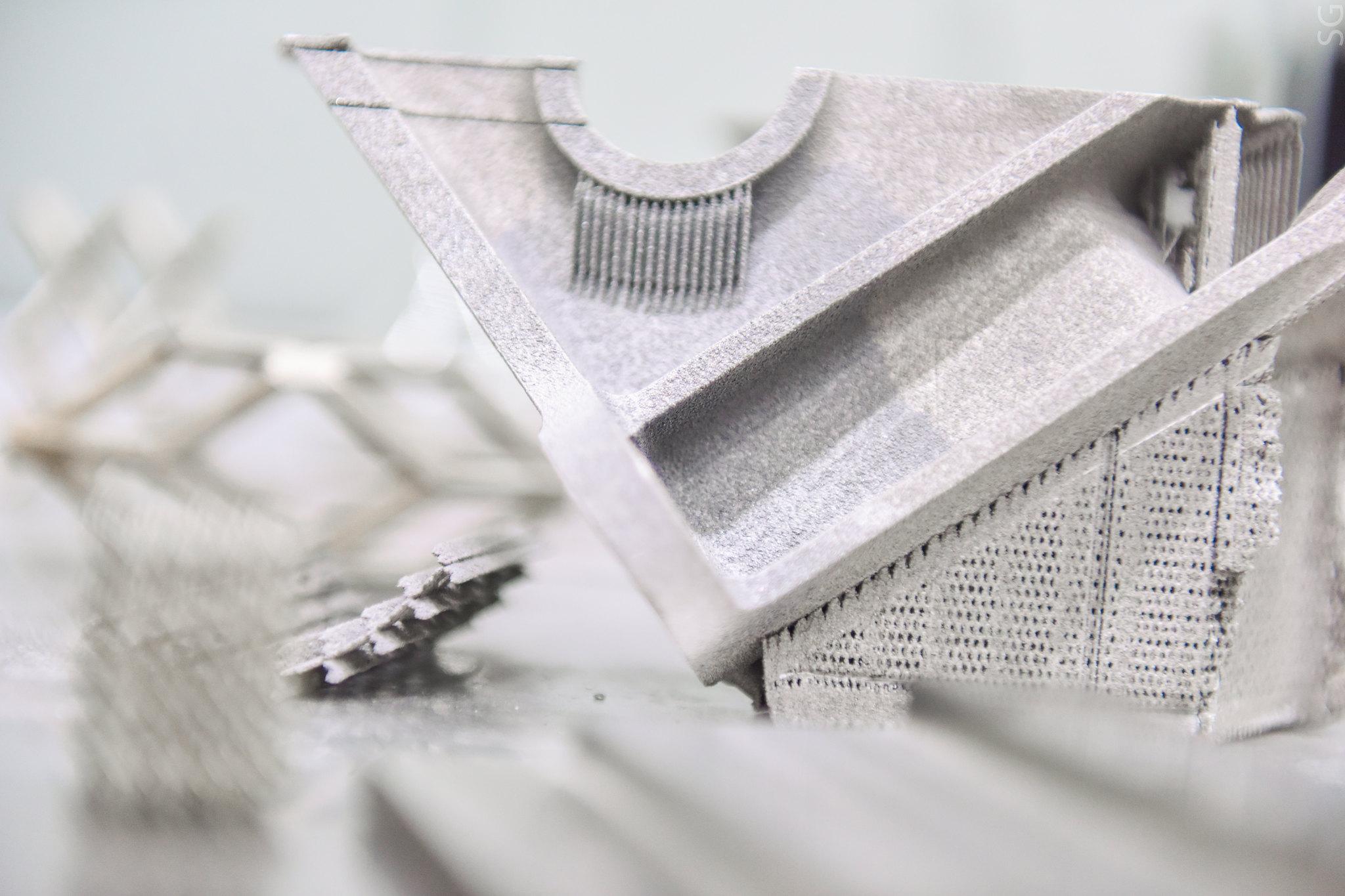 Бросовый метан amp 3D-принтинг и металл