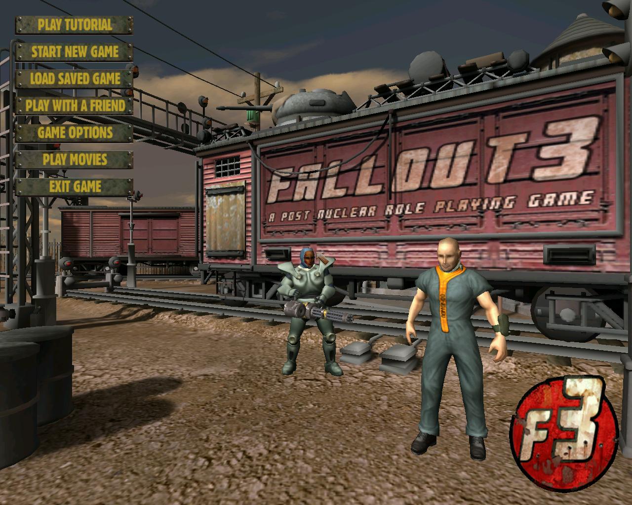 Все гиперссылки ведут к файлу играбельного технического демо Fallout 3