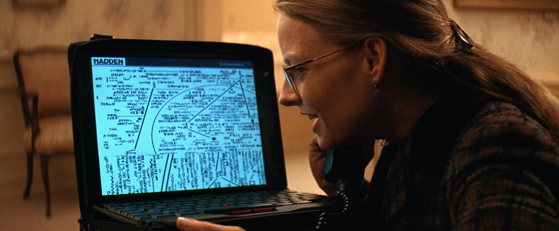 Кадр из фильма Контакт (1997 г.)