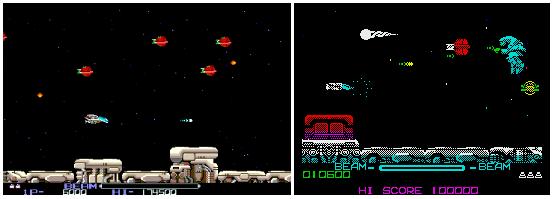 R-Type (Irem M72) и его порт для ZX Spectrum