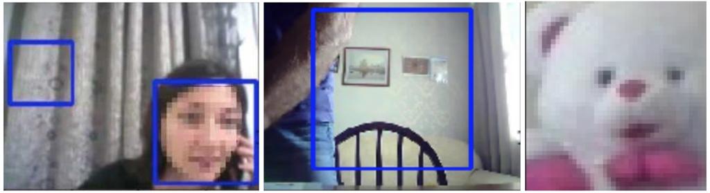 Стандартный детектор DNN Face Detector мог определить как лицо узор на занавеске, игрушечного медведя или даже композицию из картин на стене и стула