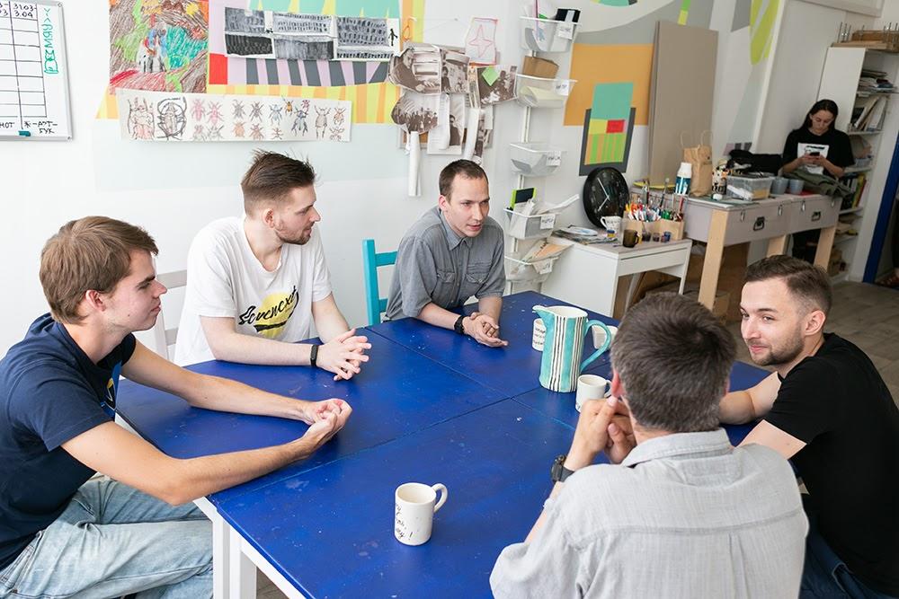 Офлайн-встреча студентов «Антон тут рядом» и сотрудников Центра компетенций по продвинутой аналитике «Газпромнефти»