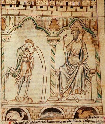 Иллюстрация из книги «Пророчества Мерлина»