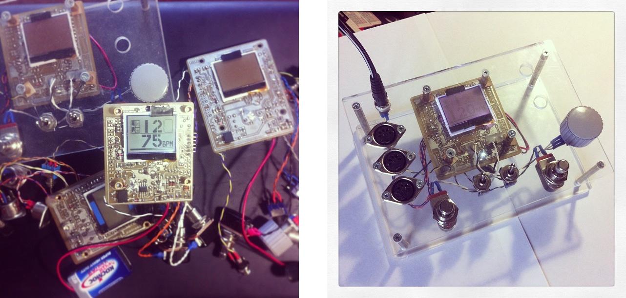 Слева россыпь прототипов, а справа финальный в демо-корпусе