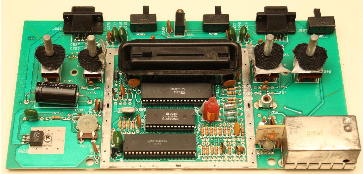 Плата Atari VCS. 14-я ревизия, 1980 год. Фото: Software & Computer Museum