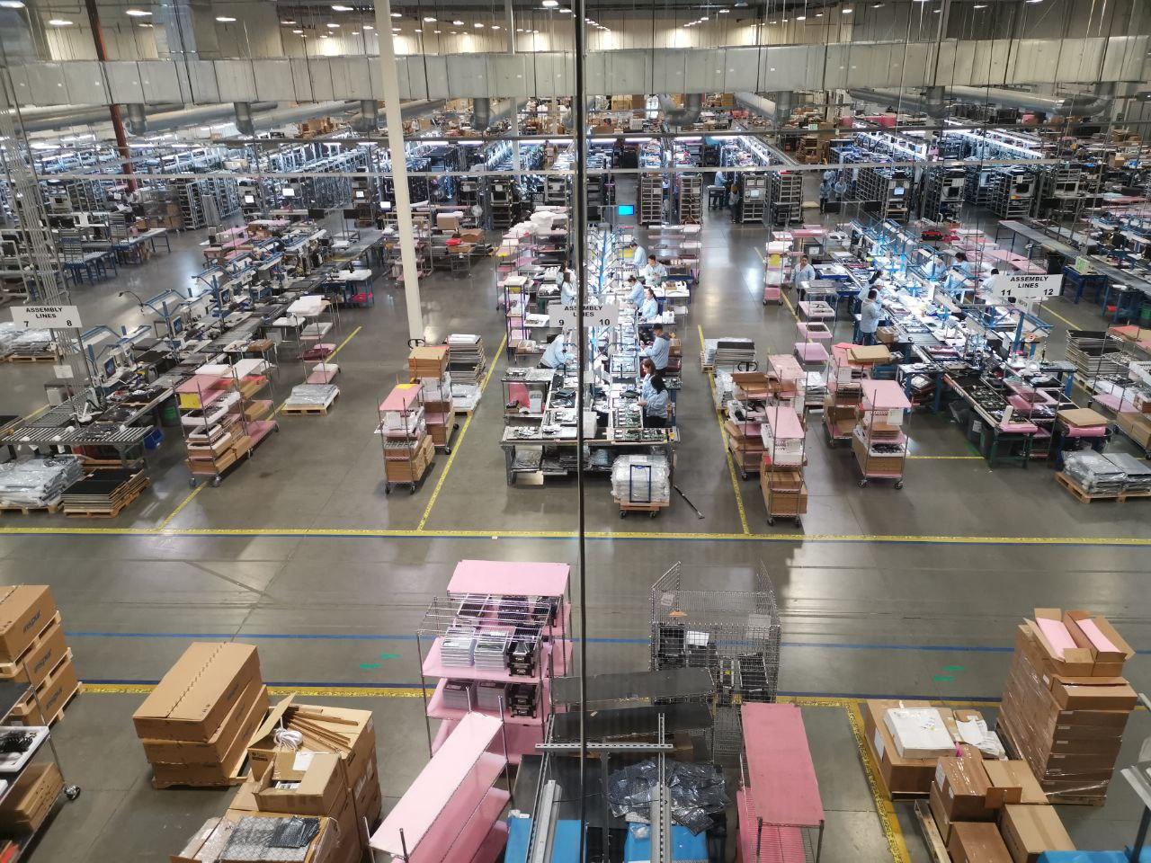 Калифорнийское производство серверов крупного азиатского производителя