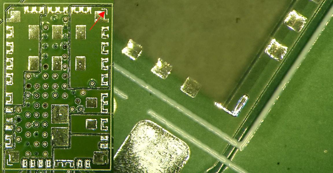 В жизни это выглядит примерно так. Мой микроскоп не делает ортографическую проекцию (странно, да?), поэтому показан только один угол