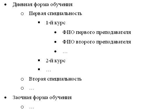 Kategoriebaumstruktur