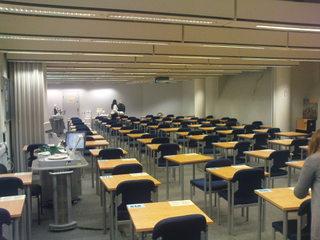 Аудитория, в которой проходил мой экзамен