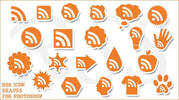 новые rss иконки для блога