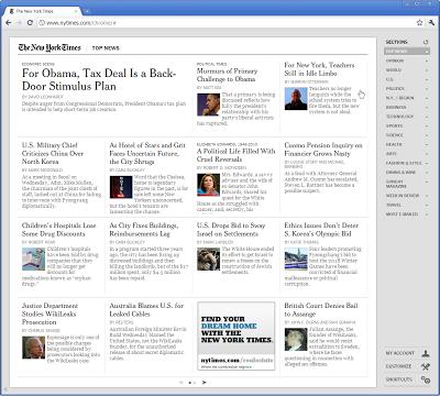 New York Times выпустила новый внешний вид сайта