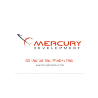 Логотип компании «Mercury Development Russia»