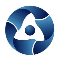 Логотип компании «Росатом»