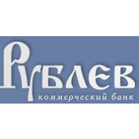 Логотип компании «Коммерческий Банк РУБЛЕВ»