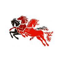Логотип компании «Русская тройка»