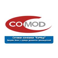Логотип компании «COMOD»