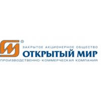 Логотип компании «Открытый мир»