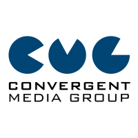 Логотип компании «Convergent Media Group»