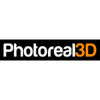 Логотип компании «Photoreal3D»