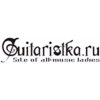 Логотип компании «Гитаристка.ру - женская рок-энциклопедия»