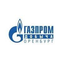 Логотип компании «Газпром добыча Оренбург»