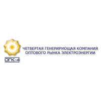 Логотип компании «Четвертая генерирующая компания оптового рынка электроэнергии (ОГК-4)»
