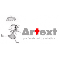 Логотип компании «Бюро переводов Artext»