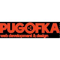 Логотип компании «веб-студия PUGOFKA»