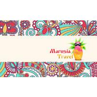 Логотип компании «Marusia Travel»