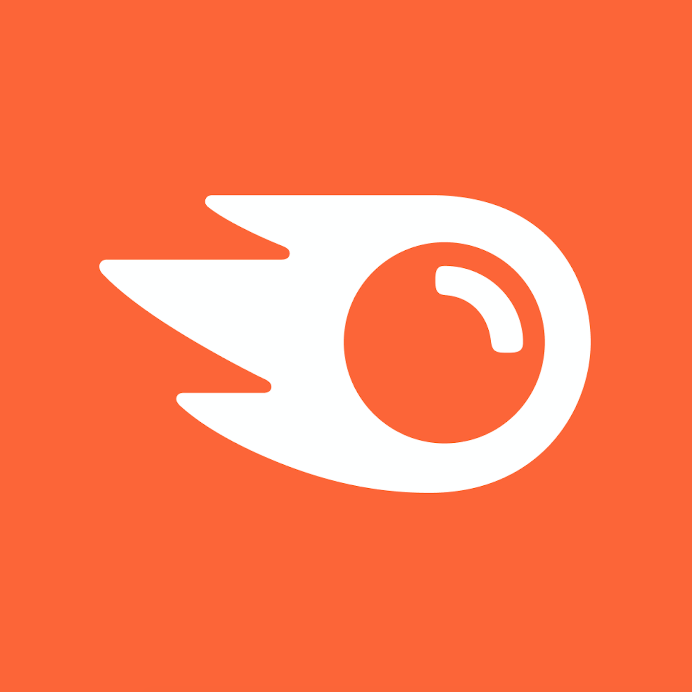 Логотип компании «Semrush»