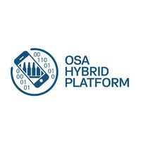 Логотип компании «OSA Hybrid platform»