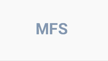 Логотип компании «MFS»