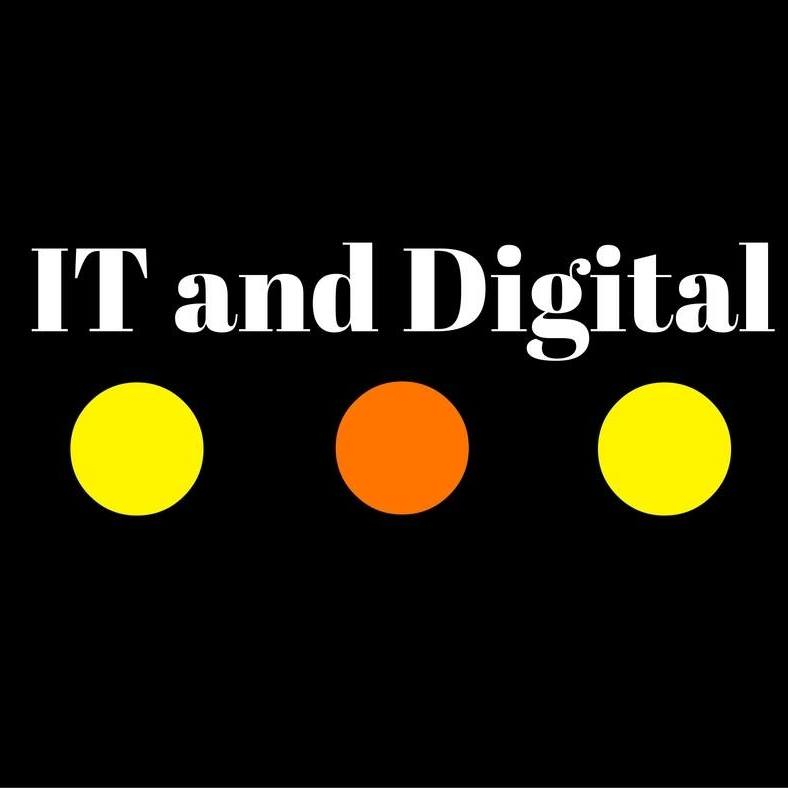 Логотип компании «IT and Digital»