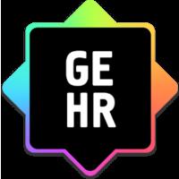 Логотип компании «GE Human Resources»