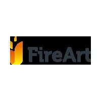 Логотип компании «FireArt»