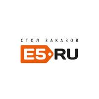 Логотип компании «Стол Заказов E5.RU»