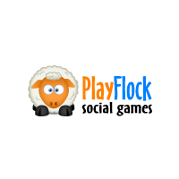 Логотип компании «PlayFlock»