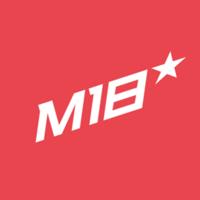 Логотип компании «M18»