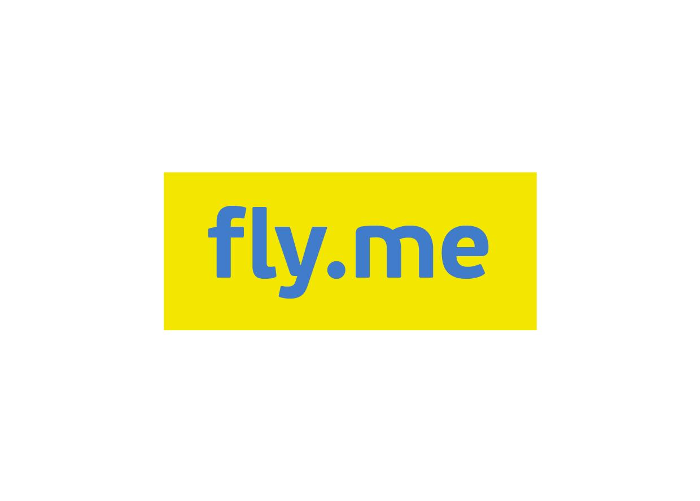 Логотип компании «fly.me»