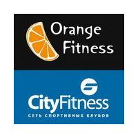 Логотип компании «OrangeFitness & CityFitness»