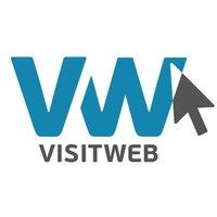 Логотип компании «VisitWeb»