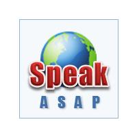 Логотип компании «speakASAP»