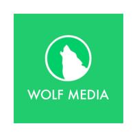 Логотип компании «Wolf Media»