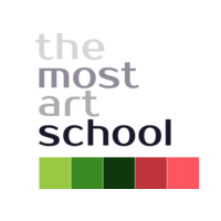 Логотип компании «The Most Art School»