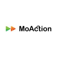 Логотип компании «MoAction»