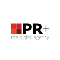 Логотип компании «PR+»