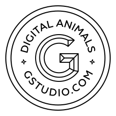 Логотип компании «Gstudio»