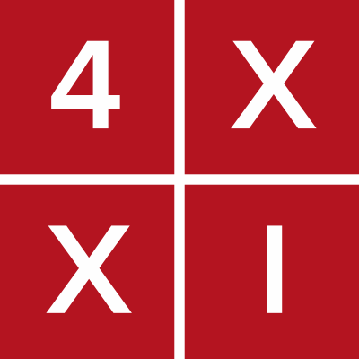 Логотип компании «4xxi»
